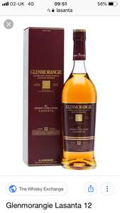 Glenmorangie Lasanta single malt whisky £22.60 instore @ Tesco Epping