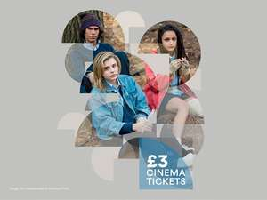 BFI British Film Institute London Southbank any film/event any time £3 for those aged 25&under
