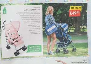 LIDL...my Babiie lightweight stroller from the 6th September - £49.99