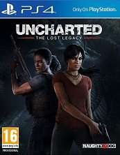 Uncharted The Lost Legacy  PS4 ex-rental PS4 £9.99 @ boomerang