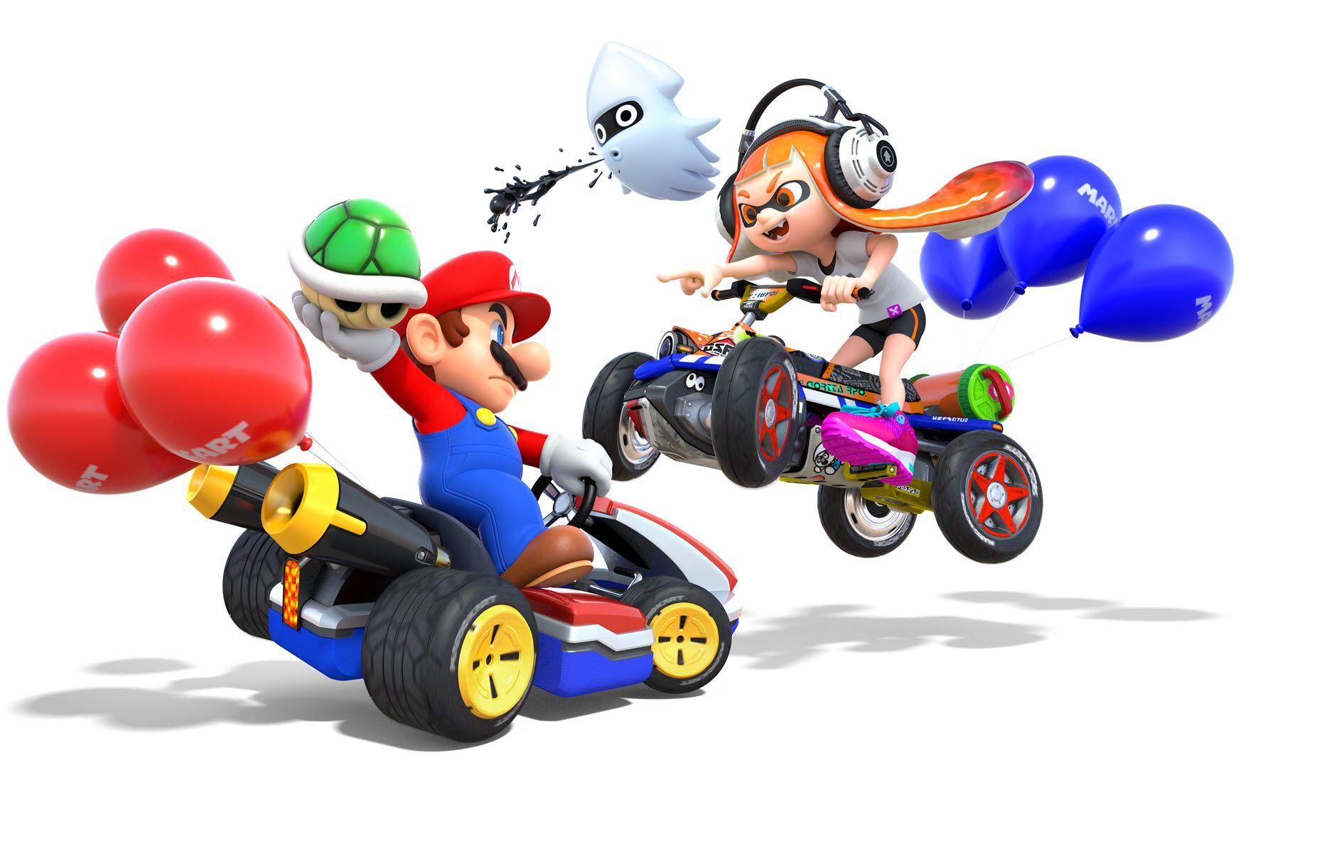 Mario Kart 8 and Splatoon 2 [Switch] £26.11 each @ Nintendo South African eShop