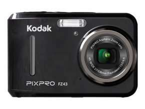 Now £54.41 for Kodak PIXPRO FZ43 Camera 16MP 4xZoom 2.7LCD 27mm Wide AA Batteries Black + Free Delivery at ebuyer