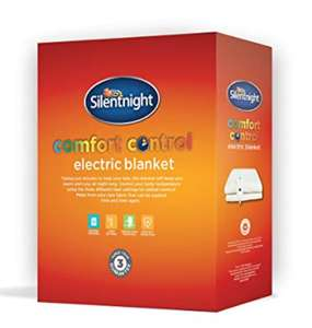 Silentnight Comfort Control Electric Blanket - Double amazon warehouse deals (described as like new) £14.68 Prime (£20.67 non Prime)