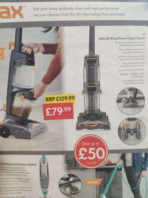 Vax W86-DP-B Dual Power Carpet Cleaner (LIDL) - £79.99