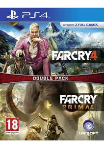Far Cry Primal and Far cry 4 double pack PS4 - £19.85 @ Simply Games