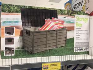 Starplast 280l Outdoor Storage Box 29 99 Instore Home Bargains