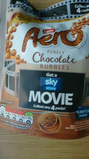 £5.99 Sky store voucher offer with Nestle (collect 4 bags)