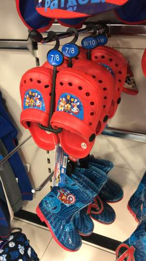 Paw patrol croc's style shoes £1 instore @ B&M