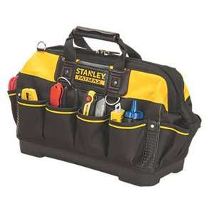 STANLEY FATMAX HARD BASE TOOL BAG - £19.99 @ Screwfix