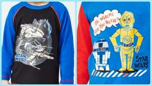 Star Wars & Marvel kids pyjamas - various styles - £4.75 delivered using code @ everything5pounds