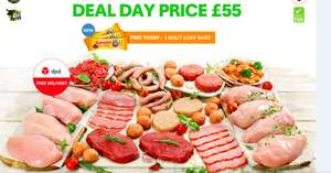Meat Hamper @ MuscleFood for £55