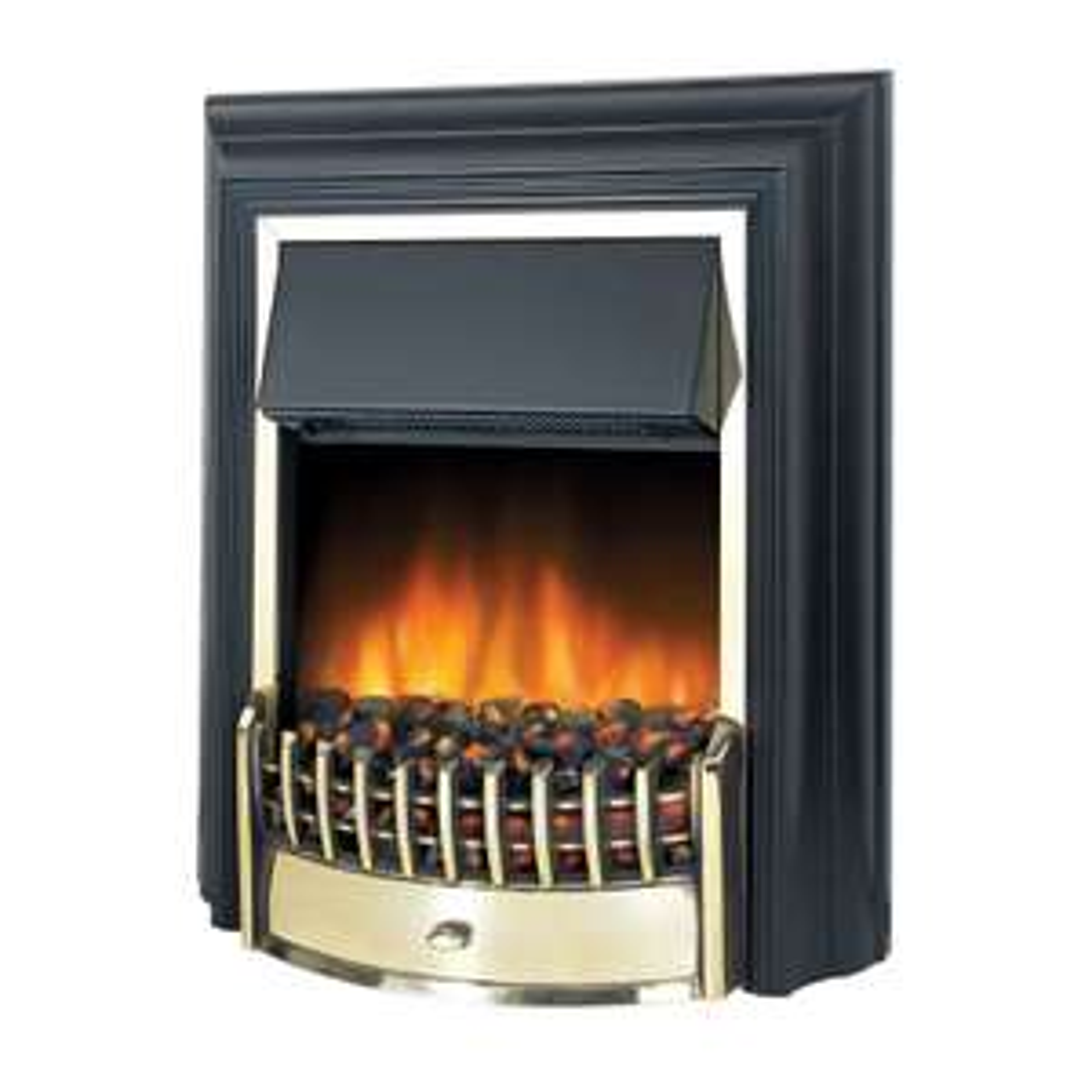 Dimplex Cheriton Electric Freestanding Fire - 2kW - £125 @ Homebase (free C&C)