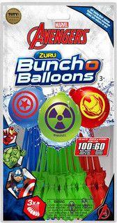 Bunch O Balloons Official Zuru Marvel Avengers - 100 Balloons £2.50 @ Tesco instore