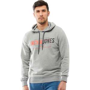 JACK AND JONES Mens Colinn Sweat Hoody £6.99 + £4.99 delivery + Loads more @ MandM Direct
