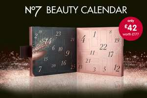 Avoid the rush/oos and register to get Boots No7 Beauty Calendar 2018 for £42 one day early (18th October)
