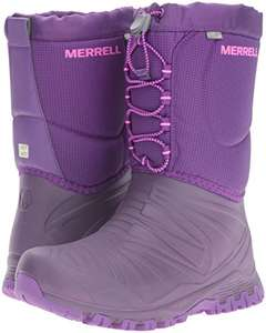 Winter is coming! Merrell Girls' Snow Quest Waterproof High Rise Hiking Boots size 3, 4 & 6 £19.74 Prime / £24.23 Non Prime @ Amazon
