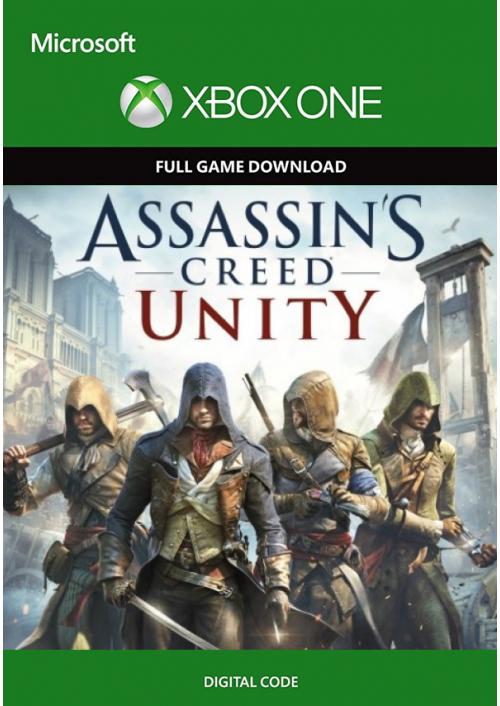 Assassin's Creed Unity Xbox One - Digital Code £0.39 @ CdKeys