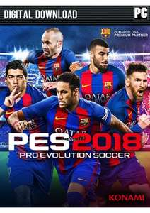 PES 2018 for PC/Steam £4.99 at CDKeys
