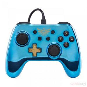 Wired Controller for Nintendo Switch - Chrome Zelda / Chrome Mario / Chrome Metroid & Chrome Princess Peach was £29.99 now £22.99 C+C @ Argos