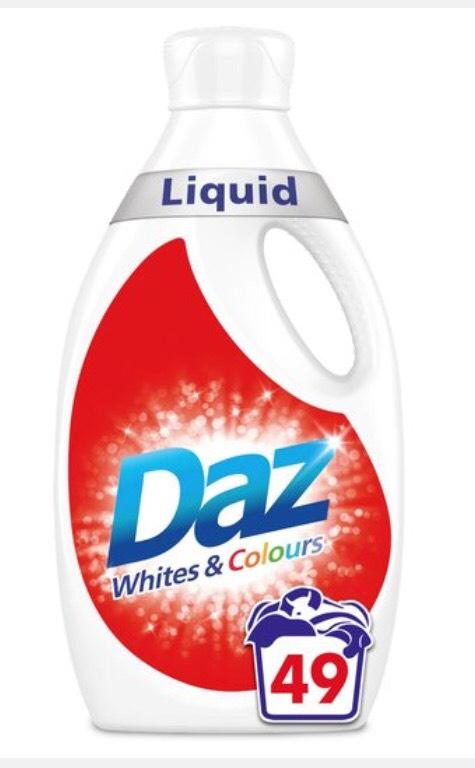 Daz Washing Liquid Whites & Colours 49 washes 1.715L £5 @ Morrisons