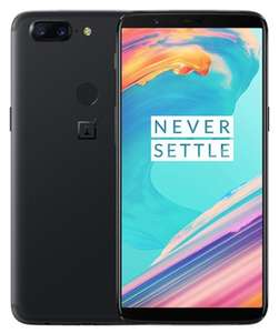 OnePlus 5T / O2 / 6GB 64GB / Midnight Black / Android Oreo / Grade B £280 at ceX