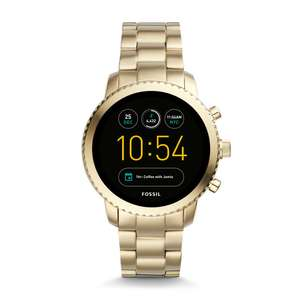 GEN 3 SMARTWATCH – Q EXPLORIST GOLD-TONE STAINLESS STEEL £179 @ Fossil