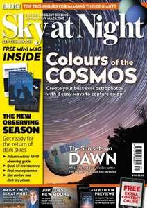 Sky at Night Subscription - 5 months for £5 @ Buy Subscriptions + Various other mags!