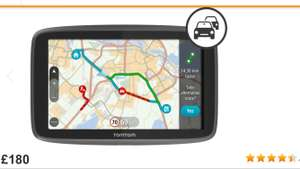 TomTom GO 5200 Car Sat Nav - £180 @ Halfords
