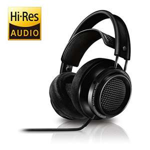 Philips Fidelio X2 Hi-Res Headphones Premium Design (Over-Ear, Velvet Cushions, 3 m Cable) - Black at  Amazon for £149.99