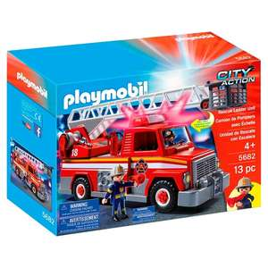 Playmobil Fire Engine 5682 HALF PRICE ONLY £20 From 3rd Sept @ Tesco