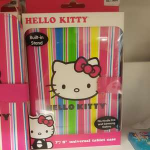 Hello kitty universal  tablet case £1 @ home bargains