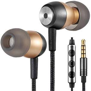 Betron GLD60 Noise Isolating in Ear Earphones Headphones for Samsung with Volume Control and Microphone £5.01 prime / £9.50 non prime Sold by Betron Limited ( VAT Registered) £5.01 Prime / £9.50 Non Prime - Sold by Betron Limited ( VAT Registered) an