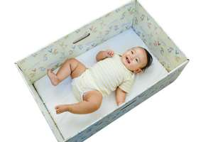 FREE Baby Box for new parents - full of helpful advice and supplies @ Babyboxuniversity