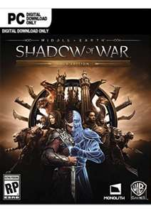Middle-earth Shadow of War Gold Edition PC STEAM key. £19.99/£18.99 with FB code @ CD KEYS