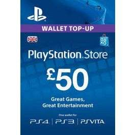 £50 PSN PlayStation Network Card UK. £42.99 @ electronic first