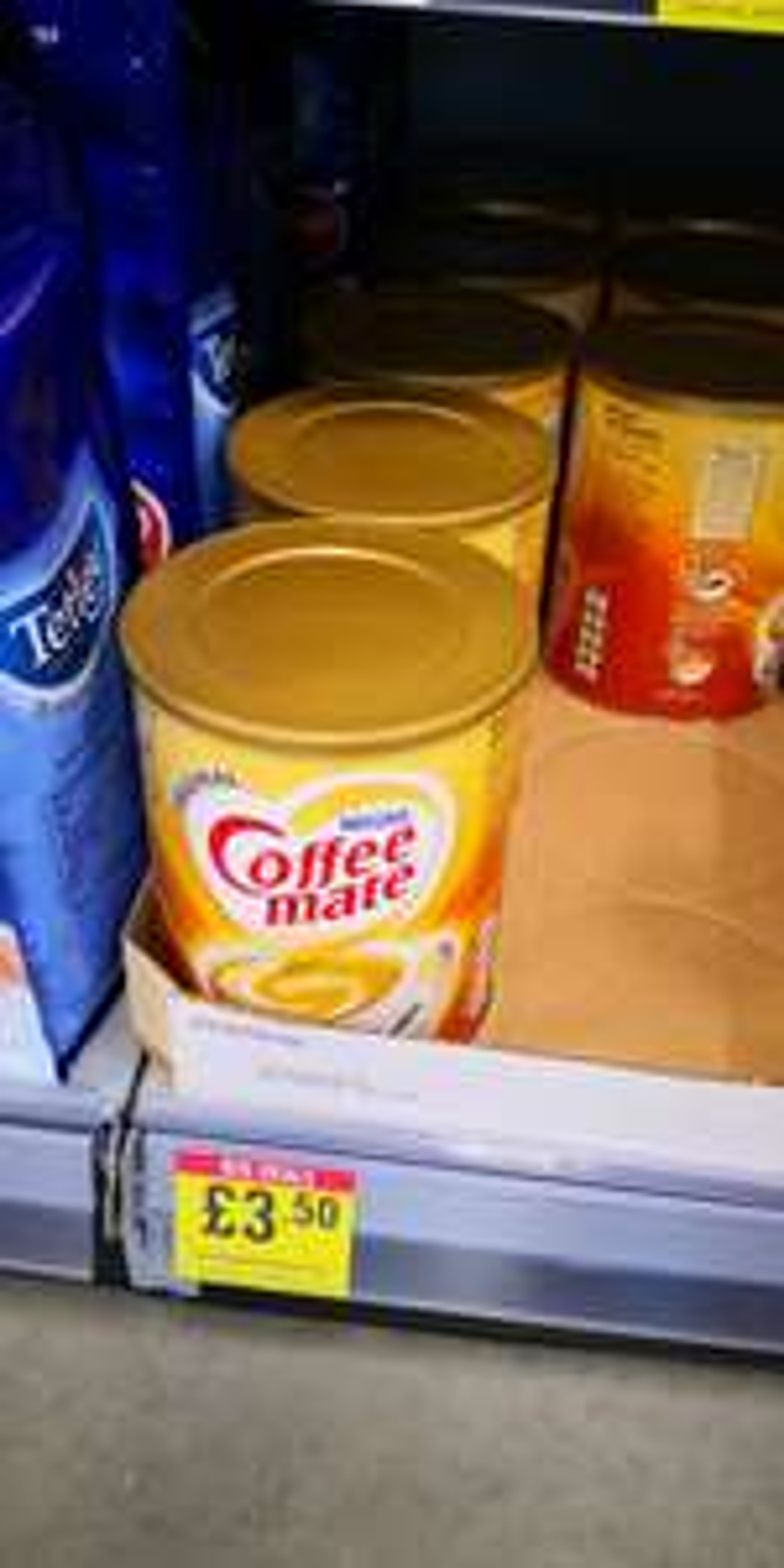 Nestle original coffee mate £3.50 instore @ The Food Warehouse