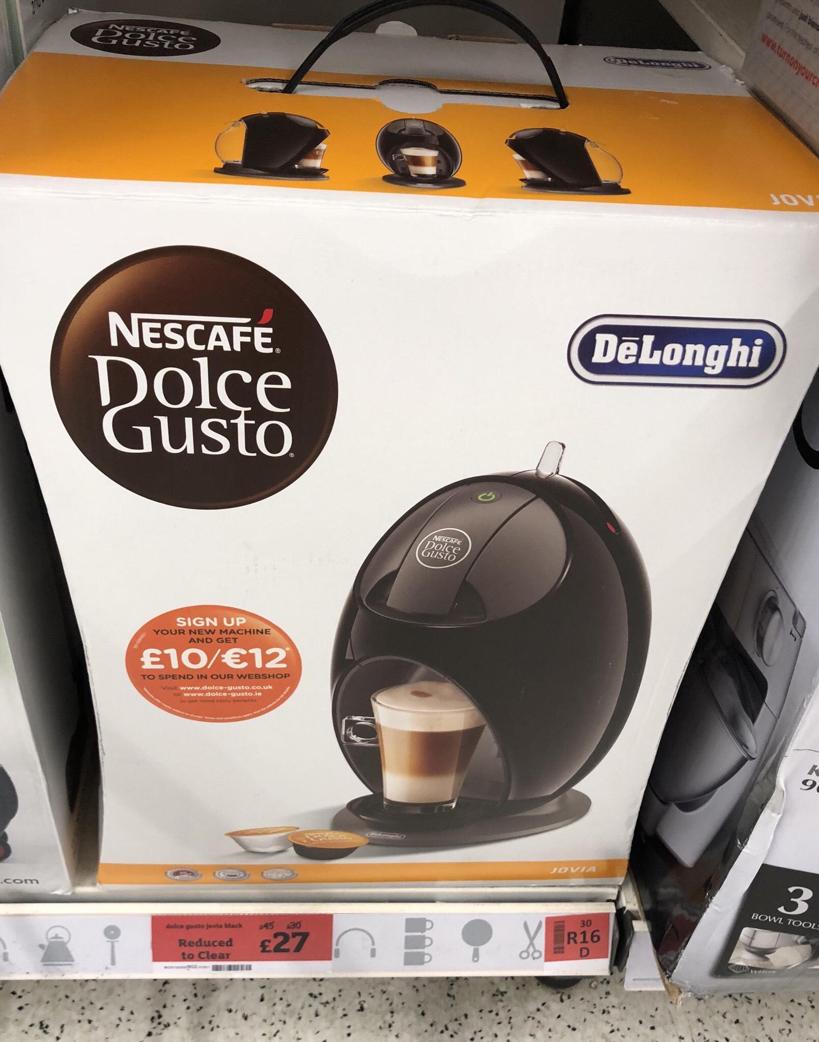De'Longhi Nescafé Dolce Gusto Jovia £27 instore @ Sainsbury's