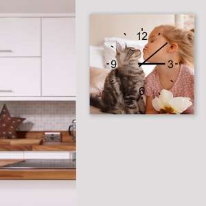 Create Your Own Acrylic Print Clock 25% Off @ Jessops Free C&C - £22.49