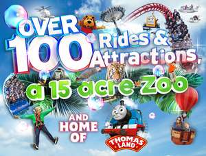 DRAYTON MANOR 1 DAY FAMILY PASS £100 with food & drink @ Attractiontix