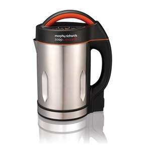 Morphy Richards Soup and Smoothie Maker 501016 Silver/Black Soupmaker and Smoothie Maker - £39.99 @ Amazon
