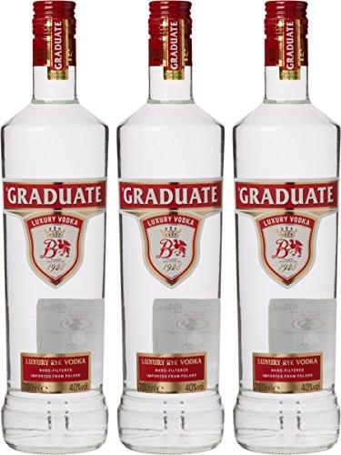 Graduate Luxury Polish Vodka 70 cl (Case of 3) amazon - £40.35