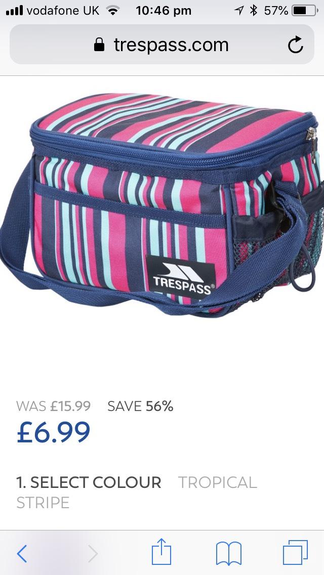 Trespass 3L Lunch Box - £6.99 @ Trespass (free C&C)