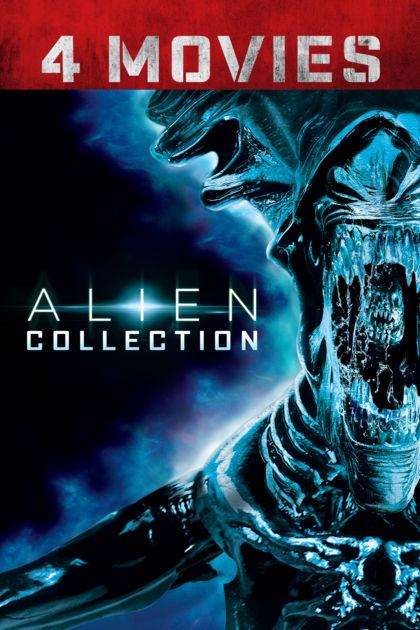 Alien 4 movie digital collection £9.99 @ itunes