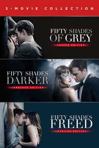 Fifty Shades triolgy 4K digital film collection £12.99 @ itunes