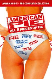 American Pie: All 8 Pieces of Pie - £14.99 /  The American Pie 4 Film Collection - £9.99 @ itunes