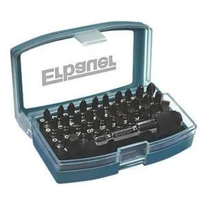 ERBAUER IMPACT SCREWDRIVER BIT SET 32 PIECES £4.49 at  Screwfix (free C&C)