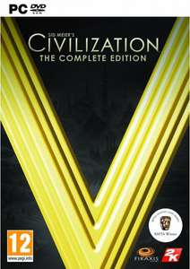 Sid Meier's Civilization V 5 - The Complete Edition PC STEAM key. £6.99/£6.64 with FB code @ CD KEYS