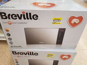 Breville 20L Solo microwave £17.25 Tesco instore