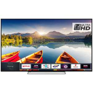 "Toshiba 49U6863DB LED HDR 4K Ultra HD Smart TV, 49"" with Freeview HD & Freeview Play, Black £379 @ John Lewis  & Partners"
