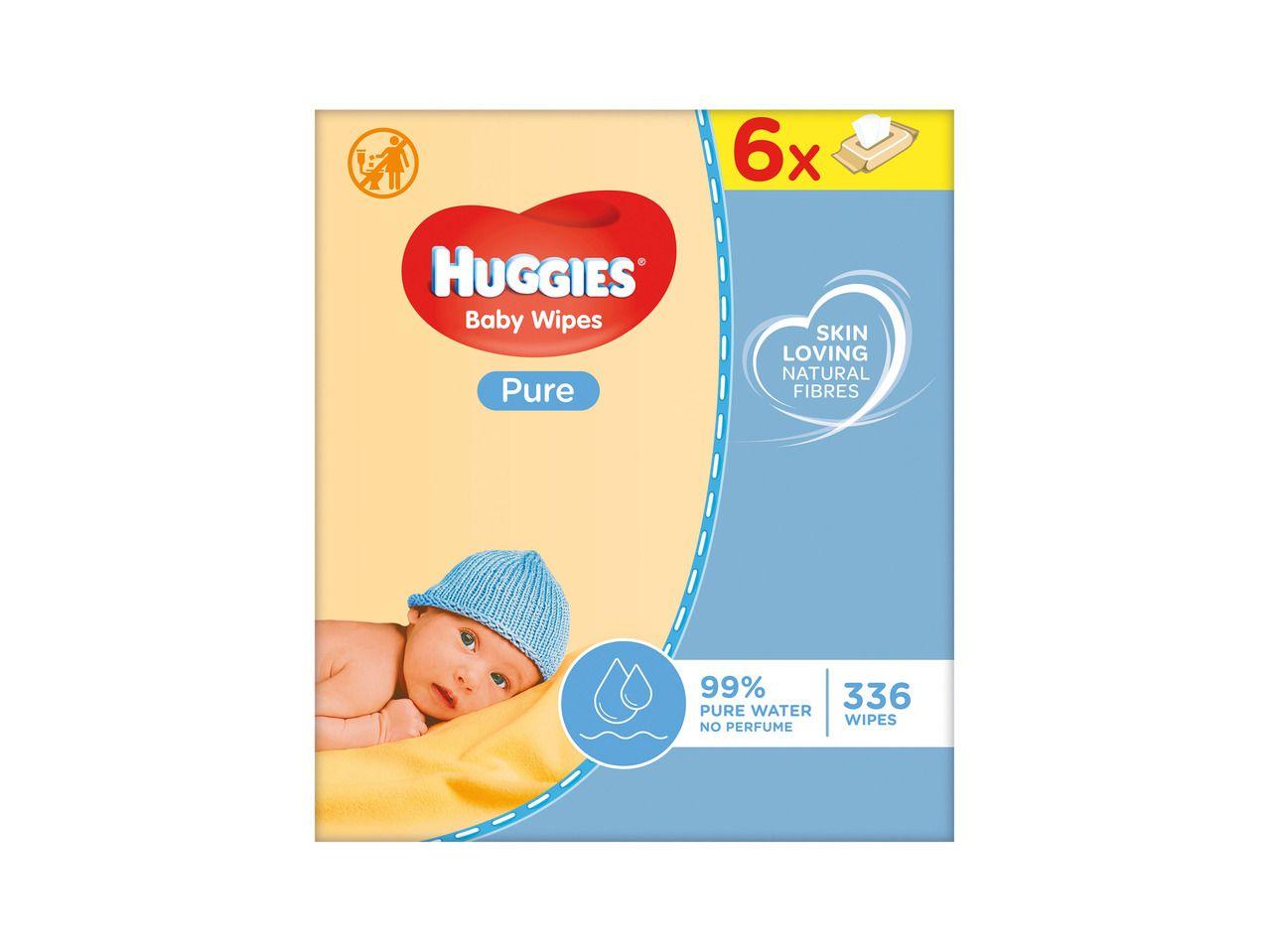 Huggies baby wipes 6pk £2.49 @ Lidl